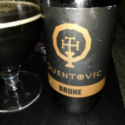 QUENTOVIC BRUNE 33CL